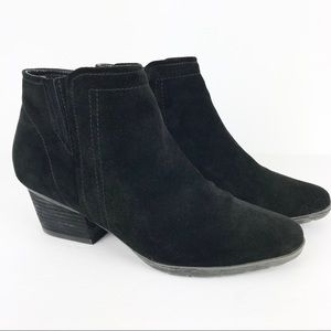 Blondo Valli Waterproof Suede Ankle Boots Booties